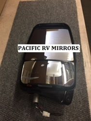 Velvac 719926 Passenger Deluxe Mirror Head Black With HCamera