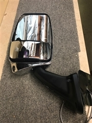 719953 Chrome Driver Side Deluxe Mirror Head w/ LEM Camera with Black 2025 Base