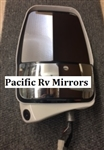 719961 Velvac Driver Deluxe Mirror Head White W/ Cube MLEM Camera Replaces 719133