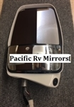 719962 Velvac Passenger Deluxe Mirror Head White W/ Cube MLEM Camera Replaces 719134