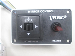 747198 - Velvac Heated/Remote Switch Kit with Mounting Plate