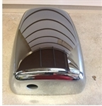 C709687 Chrome Deluxe Driver Side Mirror Shell