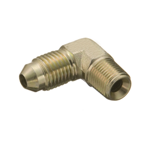 3 AN to 1//8 NPT Steel Adapter Fitting 90 Degree