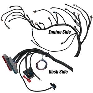 performance world 329091 1999 - 2006 gen iii ls chevrolet & gmc truck (4 8,  329091 complete ls/lsx engine swap wiring harness for