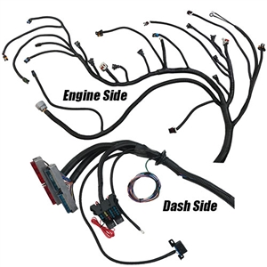 performance world 329092 1999 - 2006 gen iii ls chevrolet & gmc truck (4 8,  329092 complete ls/lsx engine swap wiring and 4l60e harness