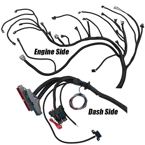 329092 Complete LS/LSX engine swap wiring and 4L60E harness. Fits Chevrolet on