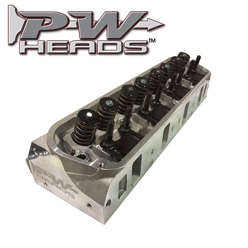 60170A PWHeads 175cc Aluminum Cylinder Heads Pair (complete for hydraulic  camshafts)  Fits SB Ford 289-351W