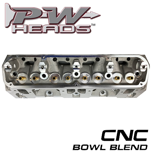 63171 PWHeads 171cc Aluminum Cylinder Heads Bare (pair) Fits SB Mopar  318-360