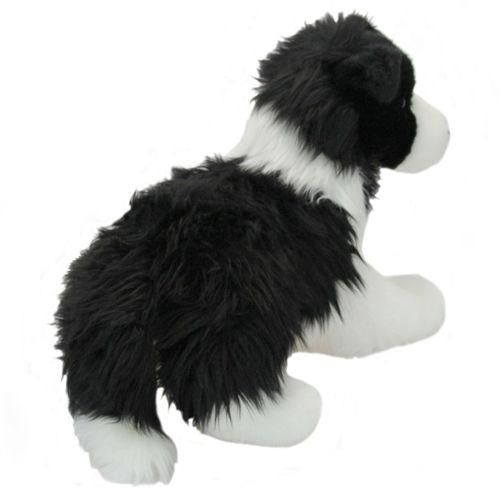 Chase Douglas 12 Long Plush Border Collie Dog Stuffed Animal Cuddle