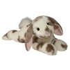 "Ramsey 16"" Gray Spotted Floppy Bunny Rabbit"