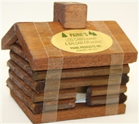 Paine's Log Cabin Incense Burner - Small