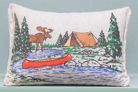 Balsam Fir Stuffed Pillow Scented 3 Quot X5 Quot Moose Canoe Tent