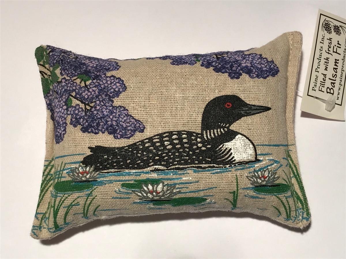 Balsam Fir Stuffed Pillow Scented 3 Quot X5 Quot Loon Bird Purple