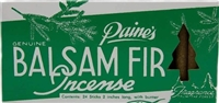 Paine's Balsam Fir Incense Cones & Burner - 24 pc.