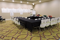 Meeting Room Kit with Agendas & ML Kishigo Vests w/Titles