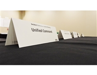 Meeting Room Table Tents
