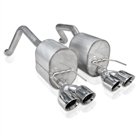 "Chevy Corvette C6 2009-13 2.5"" Axleback Exhaust"