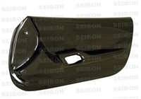 Carbon fiber door panels for 1993-1998 Toyota Supra