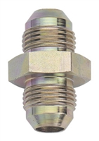 Fragola Steel AN Fitting - Straight Union (Male to Male)
