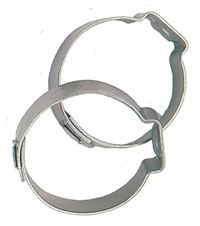 Fragola Push-Lock Clamp, Pair