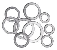 Fragola Aluminum Crush Washers - SAE