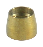 Fragola PTFE Hose End - Replacement Brass Olives