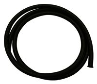 Fragola Premium Black Nylon Race Hose - Sold by the Foot