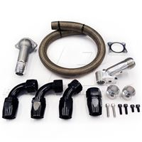 Do-It-Yourself -20AN Radiator Hose Kit for 93-98 Supra