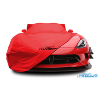 Indoor Satin Stretch Chevrolet Corvette C7 Car Cover, Year 14-18