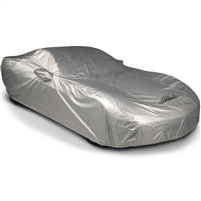 Reflective Silverguard Plus Cadillac CTS-V Gen 3 Car Cover, Year 16-18