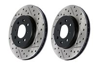 StopTech Brake Rotors - Sport Drilled & Slotted