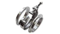Vibrant V-Band Flange/Clamp Assembly - Aluminium Flanges