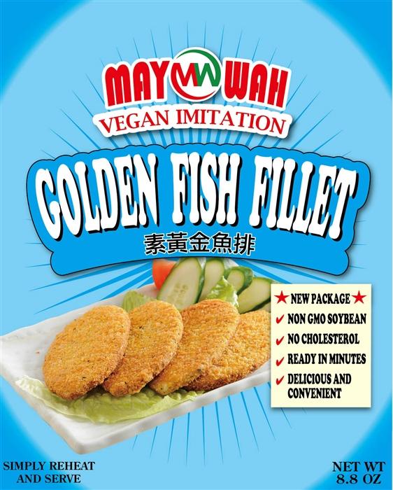 Vegan Golden Fish Fillet