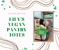 Lily's Vegan Pantry Limited Tote Bag - Light Green
