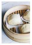 Vegan Plain Steamed Buns (6 pieces)