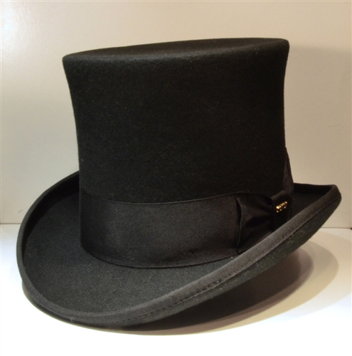 eec05e1742a Scala - Black- mad hatter -Tall Top hat