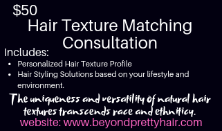 Hair Texture Matching Consultation