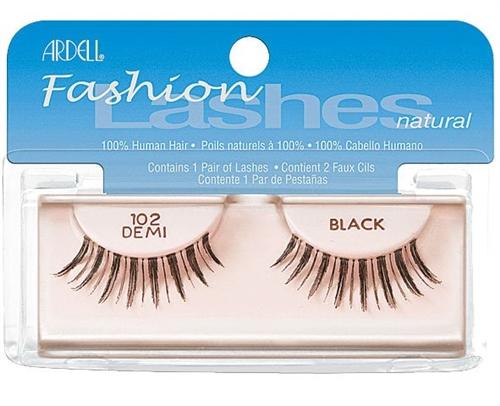 6e639ca5cfc Ardell Fashion Lashes Natural, 102 Demi Black, Ardell lashes, human hair  lashes, Ardell 102