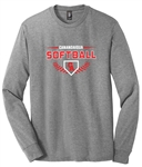 DISTRICT PERFECT TRI BLEND LONG SLEEVE TEE