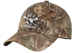 PORT AUTHORITY PRO UNSTRUCTURED GARMENT WASHED CAMO CAP