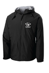 TEAM WATER REPELLENT FLEECE LINED HOODED JACKET
