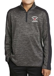 NEW!  SPORT-TEK ELECTRIC COLORBLOCK 1/4 ZIP PULLOVER