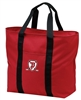 ALL PURPOSE LARGE POLY CANVAS TOTE BAG = 2 COLORS