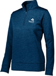 AUGUSTA HEATHERED TONAL PERFORMANCE FLEECE 1/4 ZIP PULLOVER