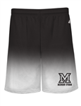 BADGER OMBRE PERFORMANCE SHORTS = 2 COLORS