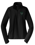 LADIES:  1/4 ZIP WICKING STRETCH PULLOVER - 2 COLOR OPTIONS