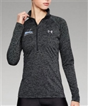 UNDER ARMOUR HEATHERED TECH 1/4 ZIP PULLOVER