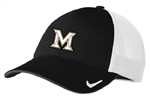 NIKE  FITTED STRETCH STRUCTURED MESH BACK CAP = 2 COLORS