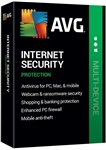 AVG Internet Security 2020 Unlimited Devices / 1 Year