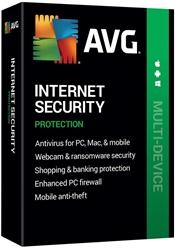 AVG Internet Security 2020 10 Devices / 1 Year